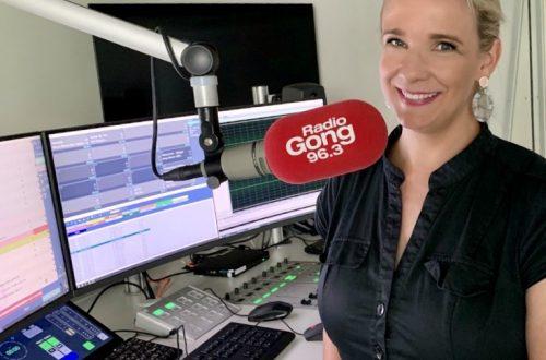 Silva Schwabe bei Radio Gong 96,3