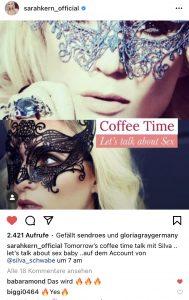 Coffee Time mit Sarah Kern